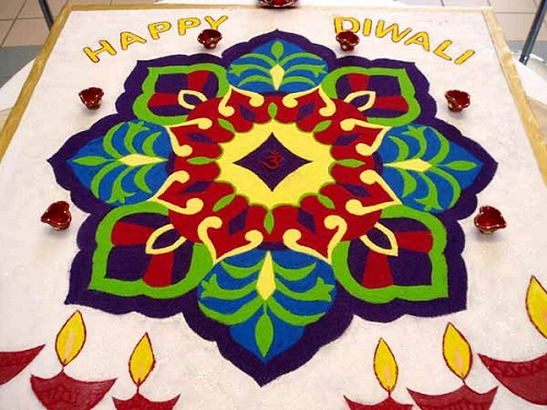 15 Amazing Rangoli Designs For Diwali Hazelnut Corner