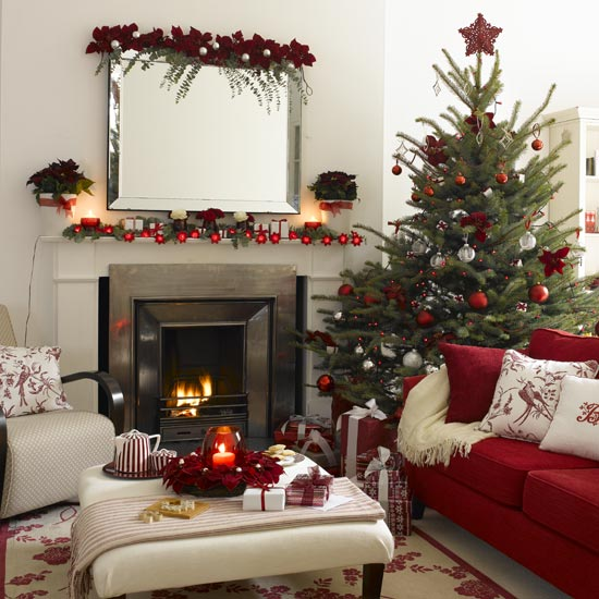 Most Beautiful Homes Decorated For Christmas
