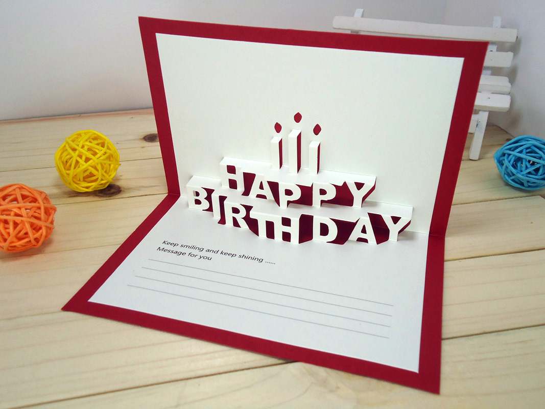 Cool and Amazing Birthday Card Ideas  Hazelnut Corner